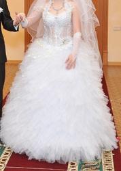 Продаю/сдаю свадебное платье,  г. Темиртау,  коллекция 2011 г.